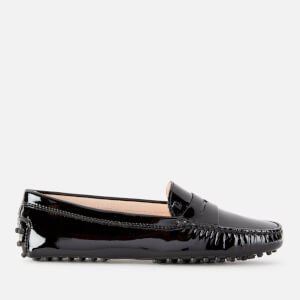 Tod's Women's Patent Gommino Loafers - Black