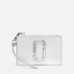 Marc Jacobs Women's Top Zip Multi Wallet - Silver