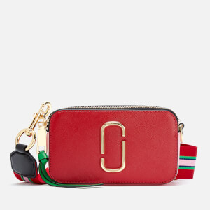 Marc Jacobs Women's Snapshot Cross Body Bag - Fire Red Multi