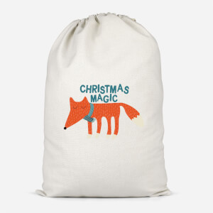Christmas Magic Cotton Storage Bag