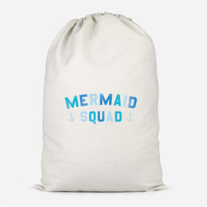 Mermaid Squad Cotton Storage Bag