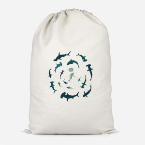 Crap Sharks Cotton Storage Bag