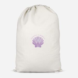Secretly A Mermaid Cotton Storage Bag