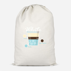 Infographic White Russian Cotton Storage Bag