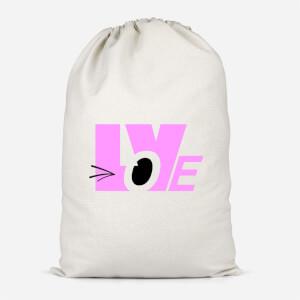 Love Wink Cotton Storage Bag