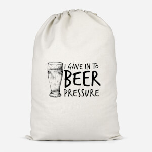 Beer Pressure Cotton Storage Bag