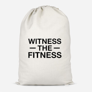 Witness The Fitness Cotton Storage Bag
