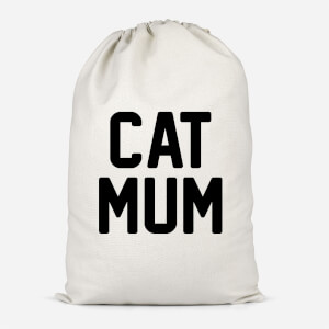 Cat Mum Cotton Storage Bag