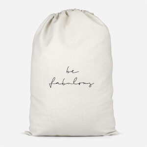 Be Fabulous Cotton Storage Bag