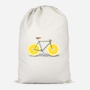 Citrus Lemon Cotton Storage Bag