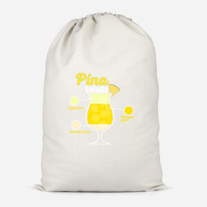 Infographic Pinacolada Cotton Storage Bag