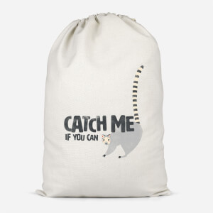 Catch Me If You Can Cotton Storage Bag