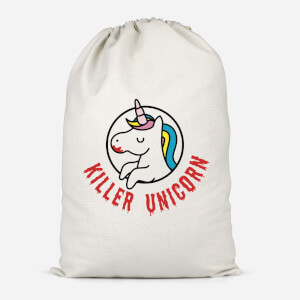 Killer Unicorn Cotton Storage Bag