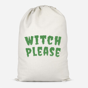 Witch Please Cotton Storage Bag