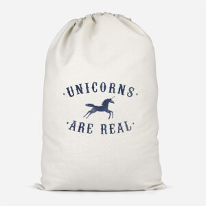 Unicorns Are Real Cotton Storage Bag