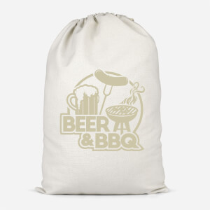 Beer & BBQ Cotton Storage Bag