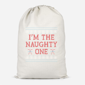 I'm The Naughty One Cotton Storage Bag