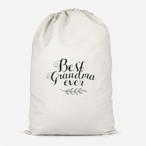 Best Grandma Ever Cotton Storage Bag