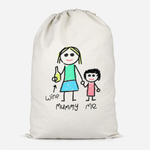 Mummy & Me Cotton Storage Bag