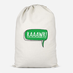 Raaawr Cotton Storage Bag