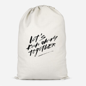 Let' Run Away Together Cotton Storage Bag