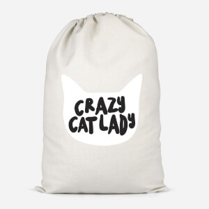 Crazy Cat Lady Cotton Storage Bag