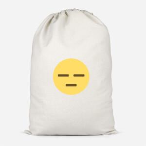 Meh Face Cotton Storage Bag