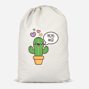 Hug Me Cactus Cotton Storage Bag