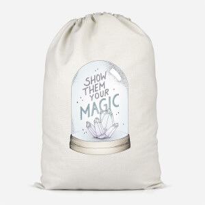 Show Them Your Magic Cotton Storage Bag