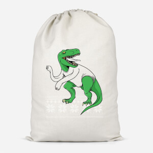 T-Rex Sleeves Cotton Storage Bag