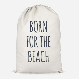 Born For The Beach Cotton Storage Bag