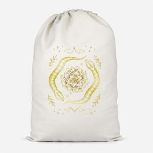 Snakes Cotton Storage Bag
