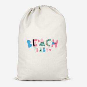 Beach Baby Cotton Storage Bag