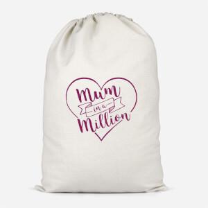 Mum In A Million Cotton Storage Bag