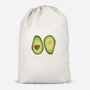 Lets Make Guacamole Cotton Storage Bag