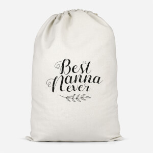 Best Nanna Ever Cotton Storage Bag