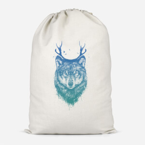 Wolf Cotton Storage Bag
