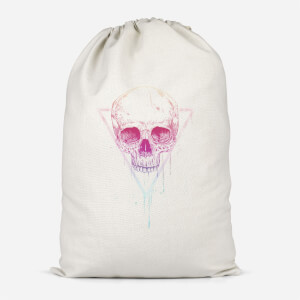 Colourful Skull Cotton Storage Bag