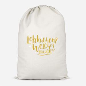 International Lebkiuchen Cotton Storage Bag