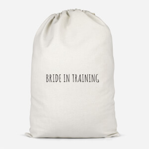 Bride In Training Cotton Storage Bag