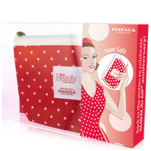 Mavala Anniversary Set with 60's Red Dot Purse