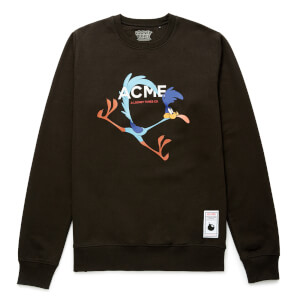 Looney Tunes ACME Capsule Road Runner Tongue Sweatshirt - Black