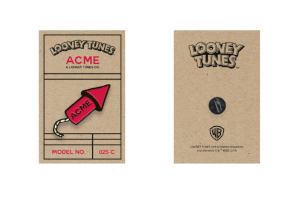 Looney Tunes ACME Capsule Rocket Limited Edition Pin Badge