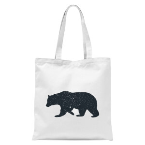 Bear Tote Bag - White