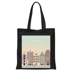 Amsterdam Tote Bag - Black