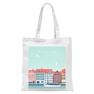 Copenhagen Tote Bag - White