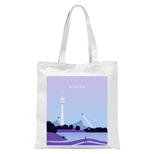 Munich Tote Bag - White