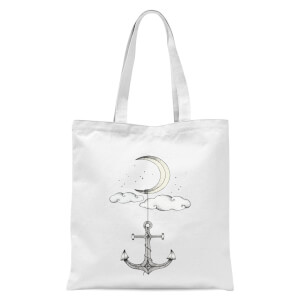 Anchor Your Dreams Tote Bag - White