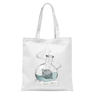 I Need Space Tote Bag - White