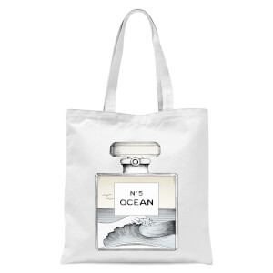 Ocean No5 Tote Bag - White